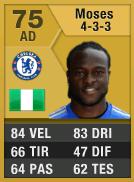 Moses 75 - FIFA Ultimate Team