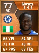 Moses arancione 77 - FIFA Ultimate Team