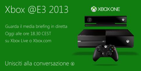 E3 2013 - conferenza Microsoft streaming