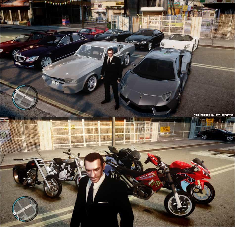 GTA IV - gta4_realistic_car_pack_ogiogi93_v4