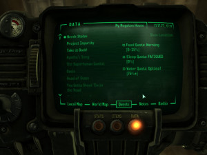 Fallout 3 Simple Needs