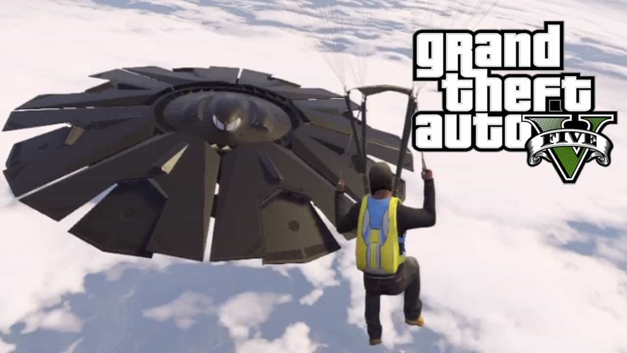 Gta 5 UFO easter egg