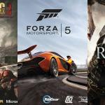 Dimensione dell'installazione per Forza 5, Ryse e Dead Rising 3