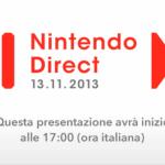 Nintendo Direct 13/11/2013 – diretta streaming