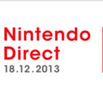 Nintendo Direct 18/12/13 – Diretta streaming