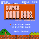 Super Mario Bros. terminato con 500 punti