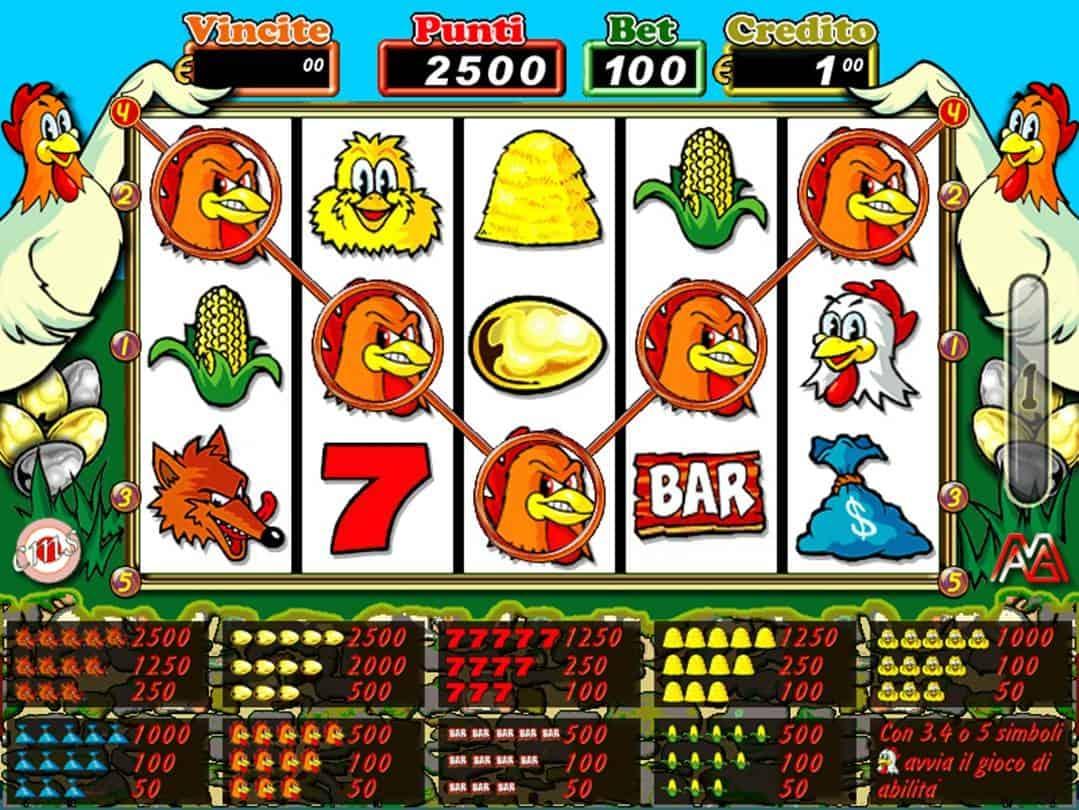 Installazione slot machine