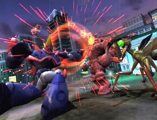 War of the Monsters screenshot 2
