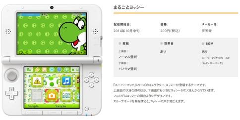 Menù personalizzabili per 3DS, disponibili sul Nintendo eShop del 3DS