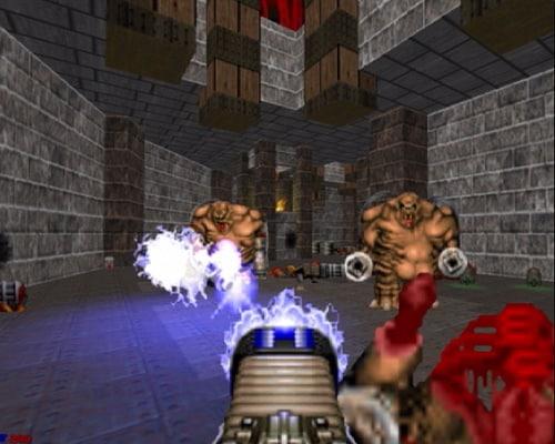 Doom 1993 fucile al plasma