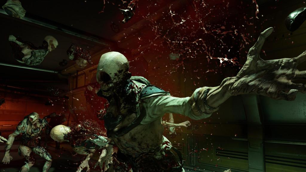 doom 2016 zombie 1