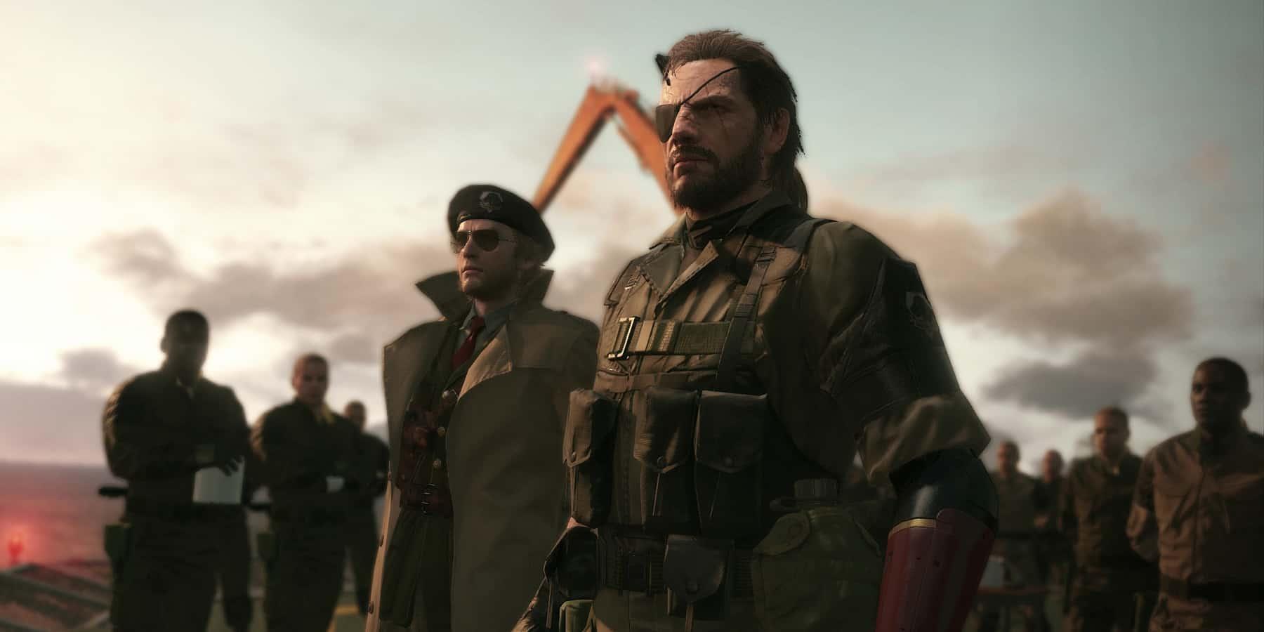 Metal Gear Solid V The Phantom Pain soldati