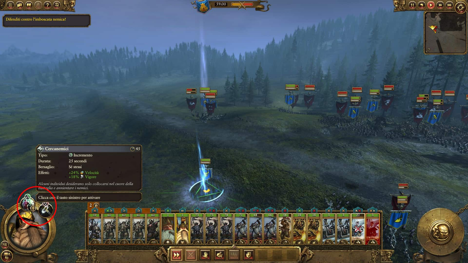 TWW Abilità attive in battaglia