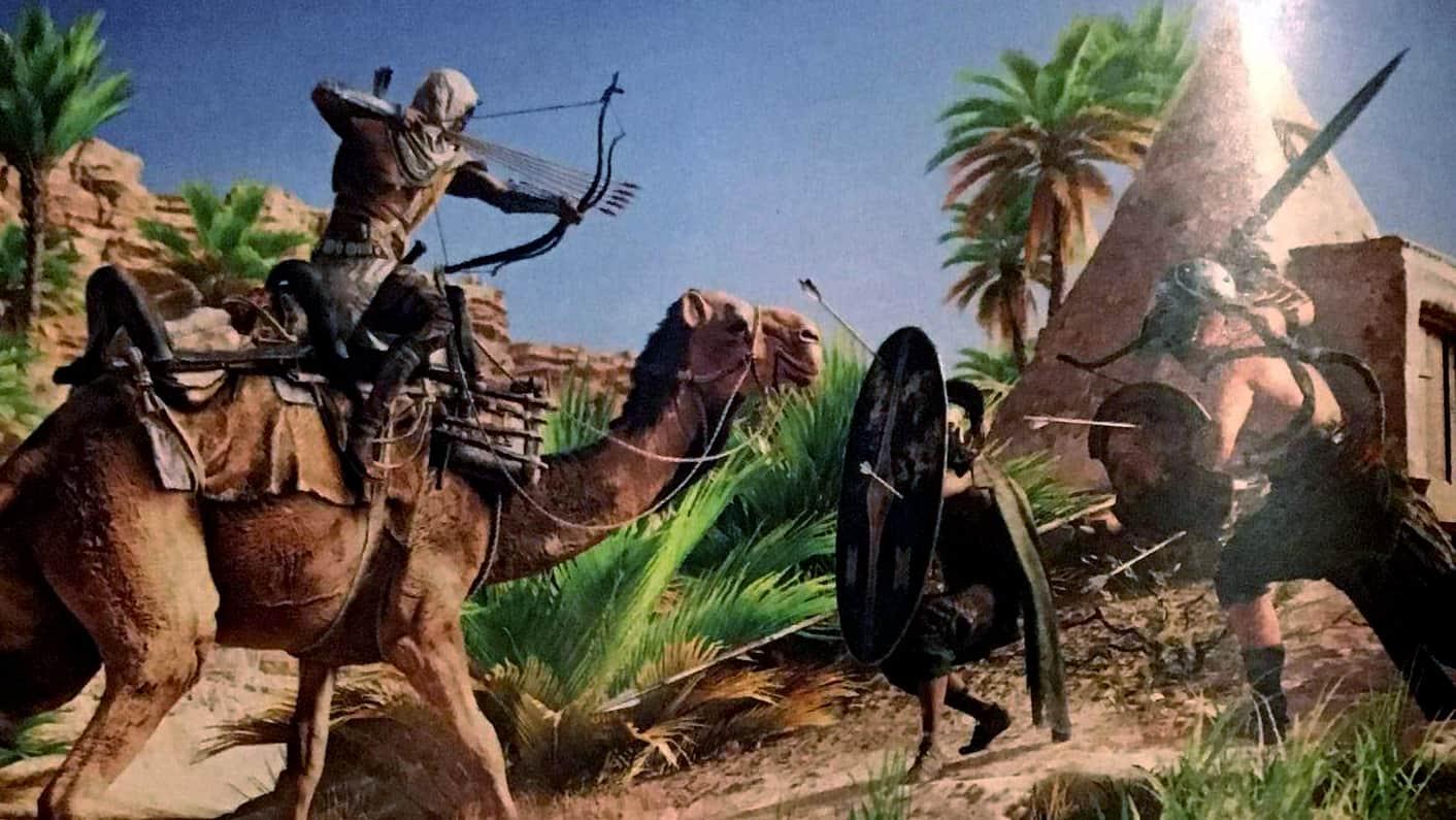 Assassin's Creed Origins cammello