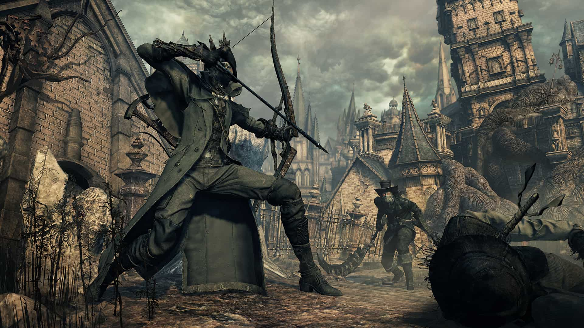 Bloodborne The Old Hunters arco