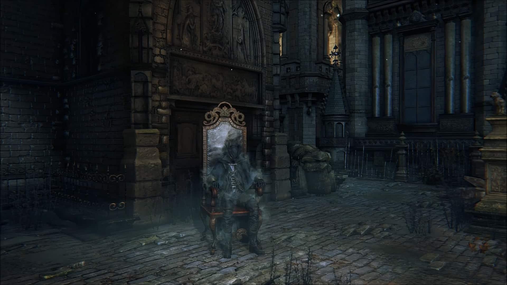 Bloodborne warpchair