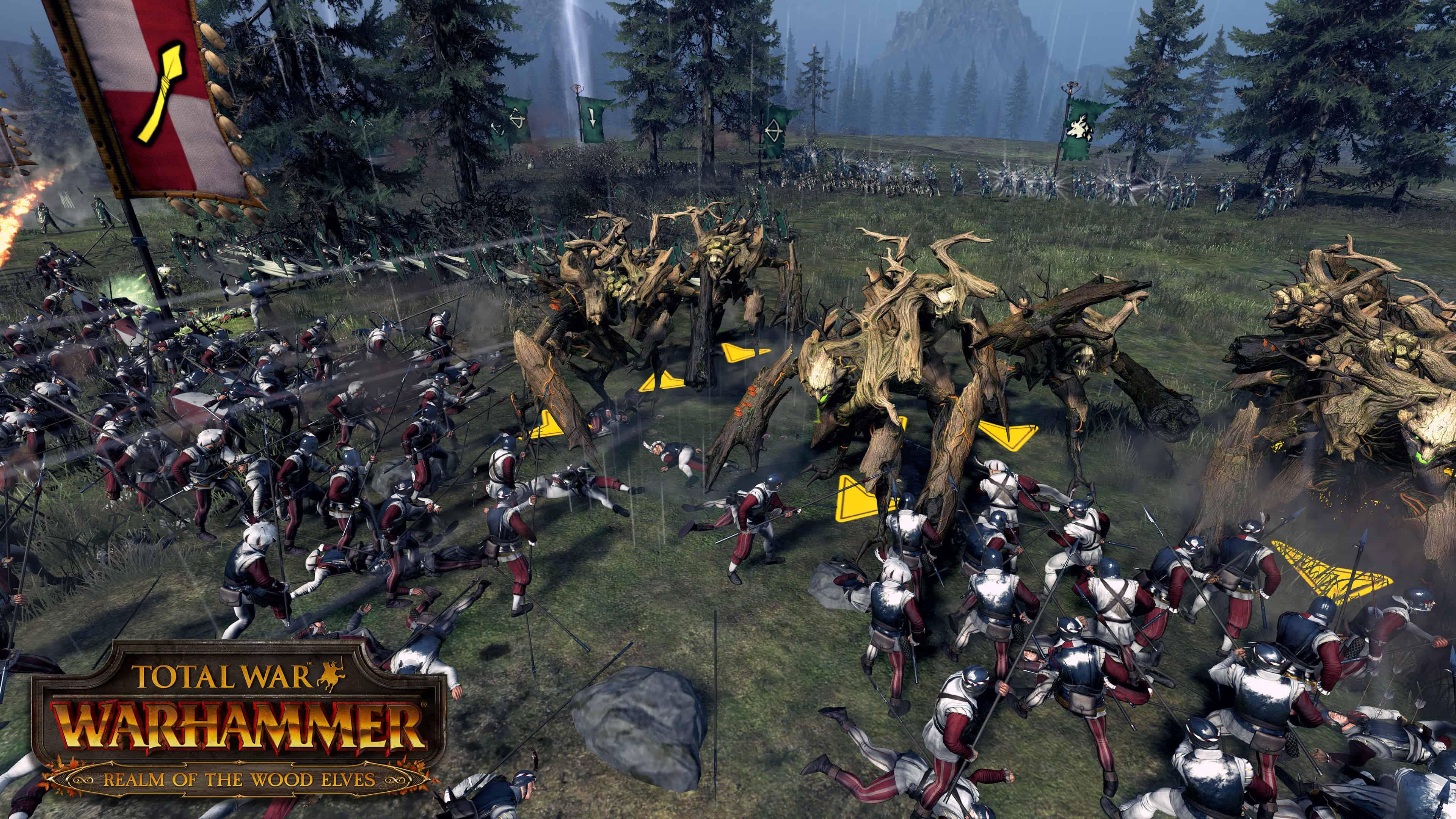 Total War: Warhammer – nuovi video degli Elfi Silvani