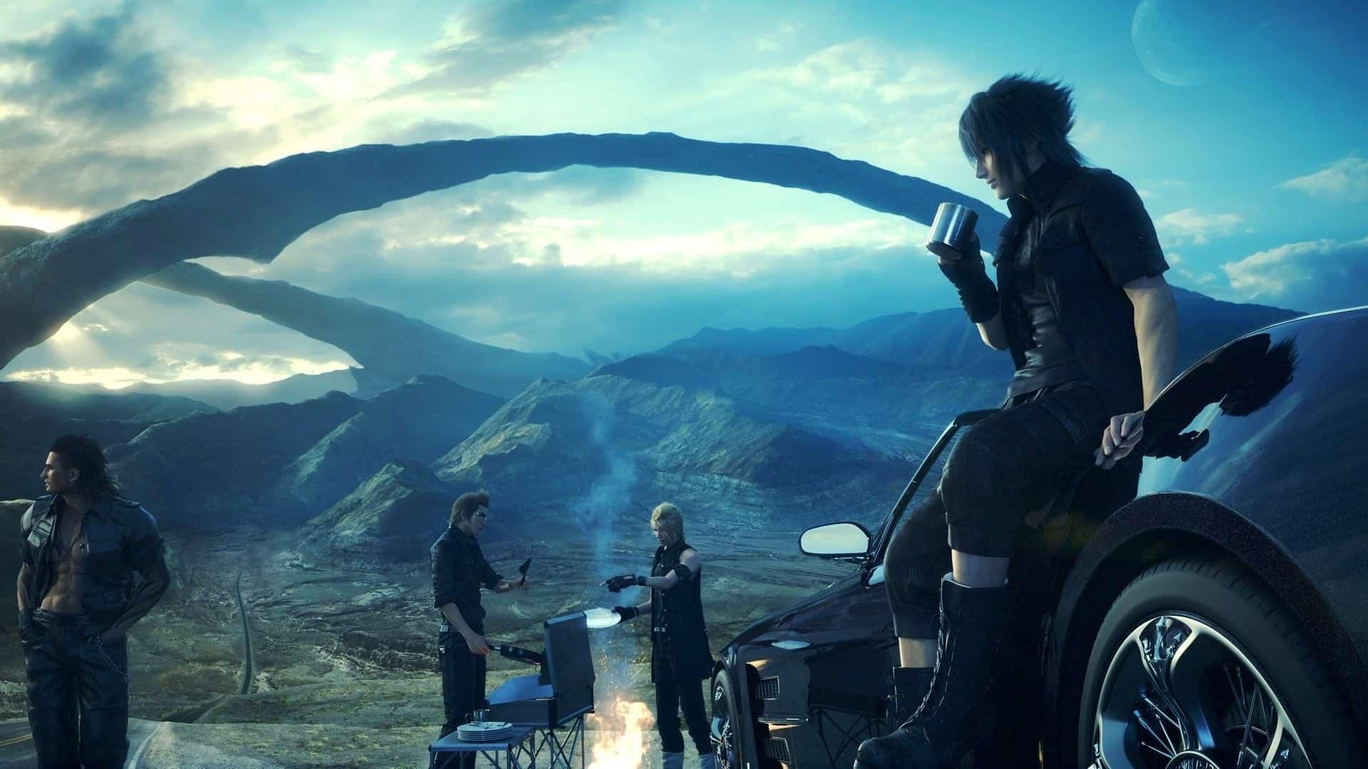 Final Fantasy XV gruppo