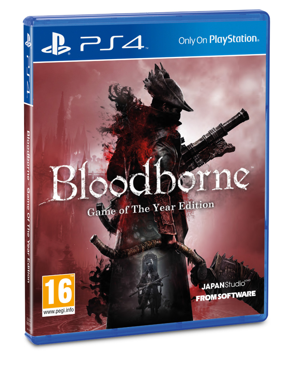 Bloodborne Game fo the Year box