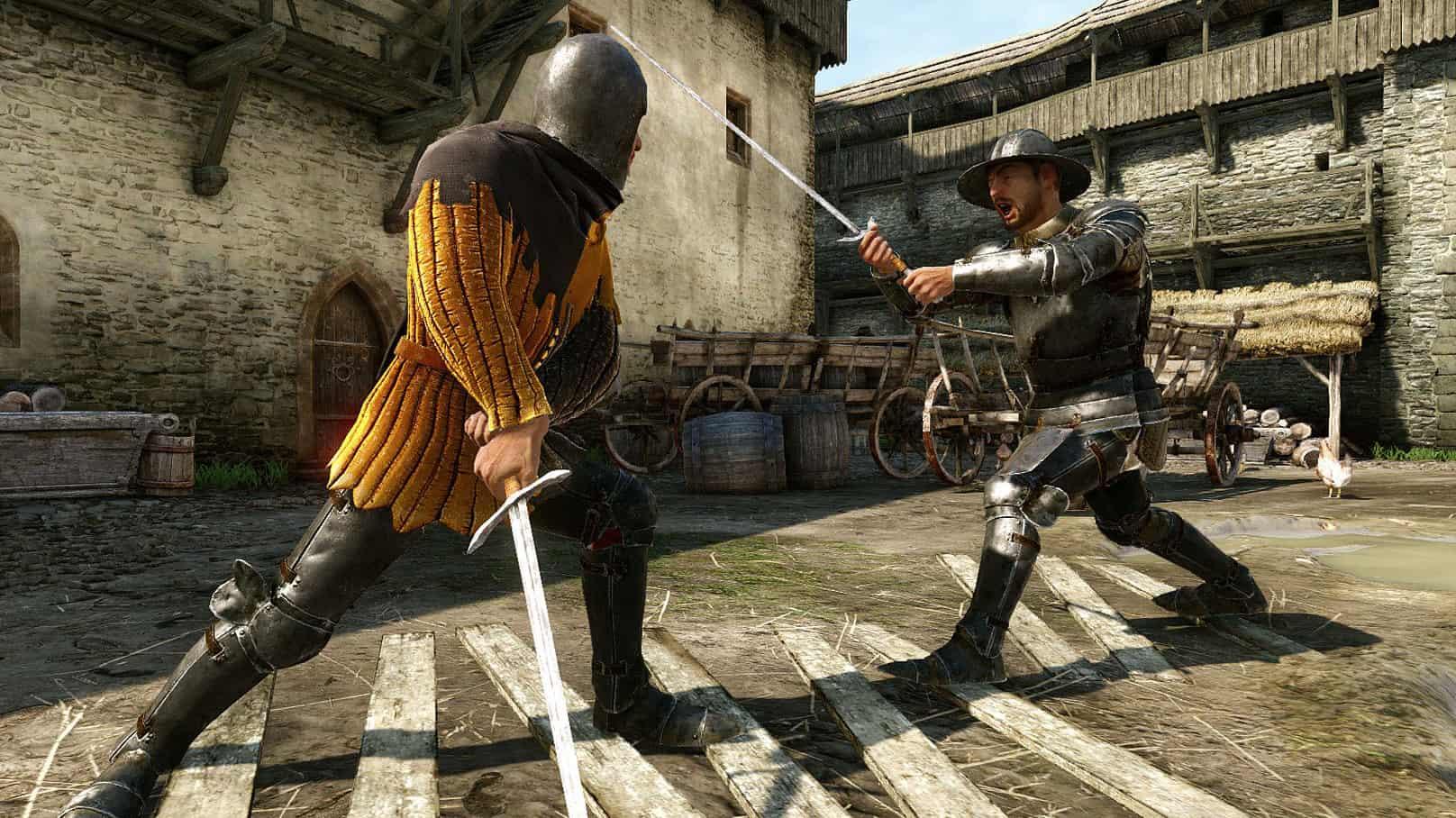 Kingdom Come Deliverance combattimento