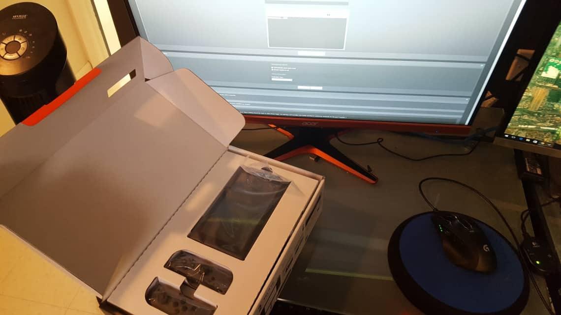 Nintendo Switch: il leaker restituisce la console