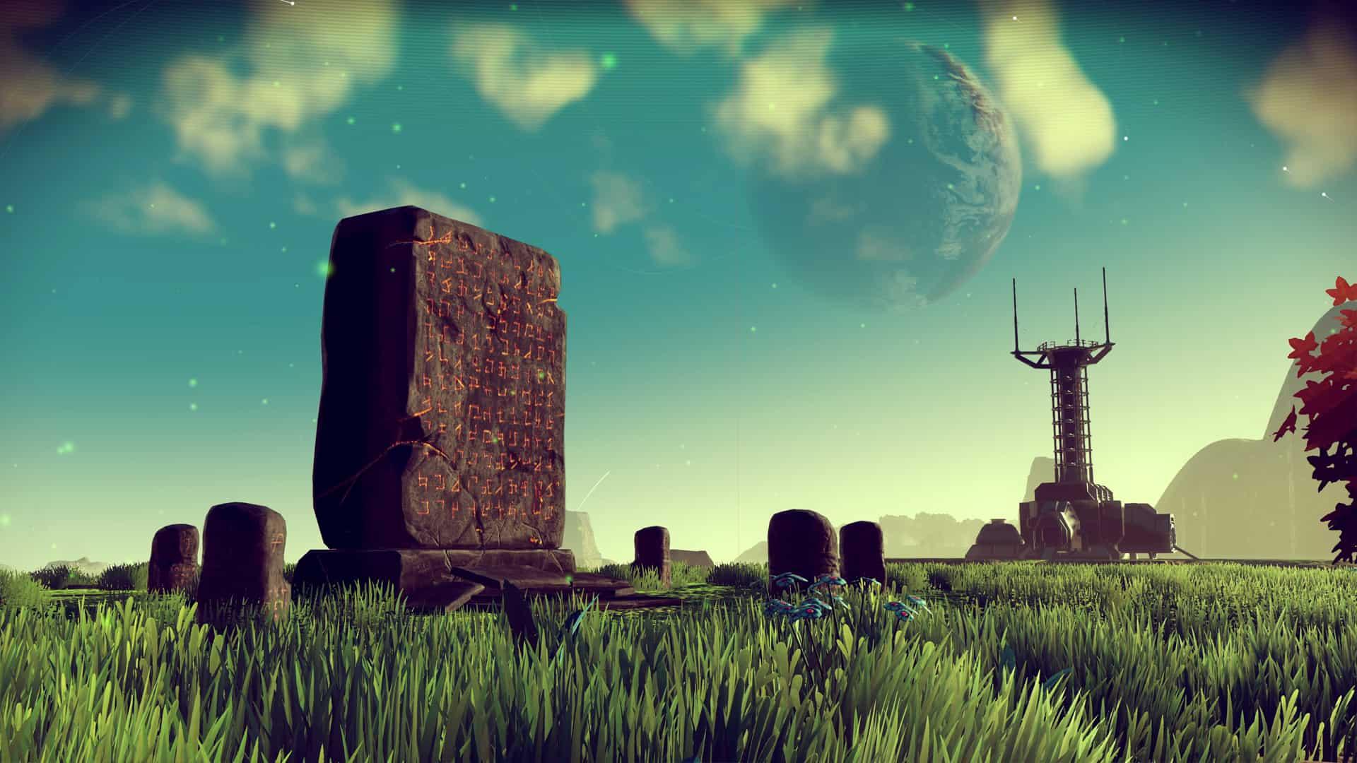 No Man's Sky obelisco