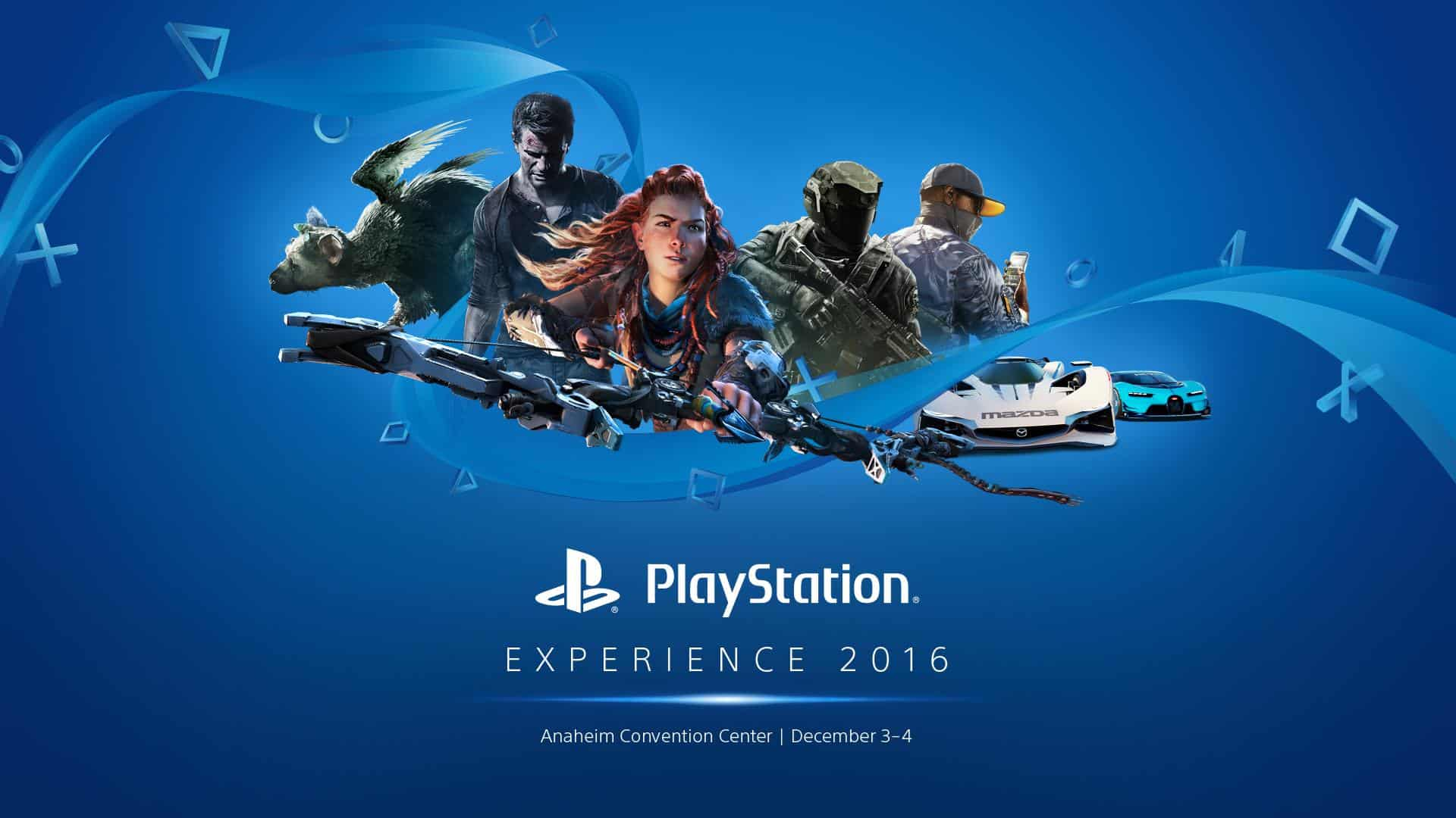 PlayStation Experience 2016 locandina