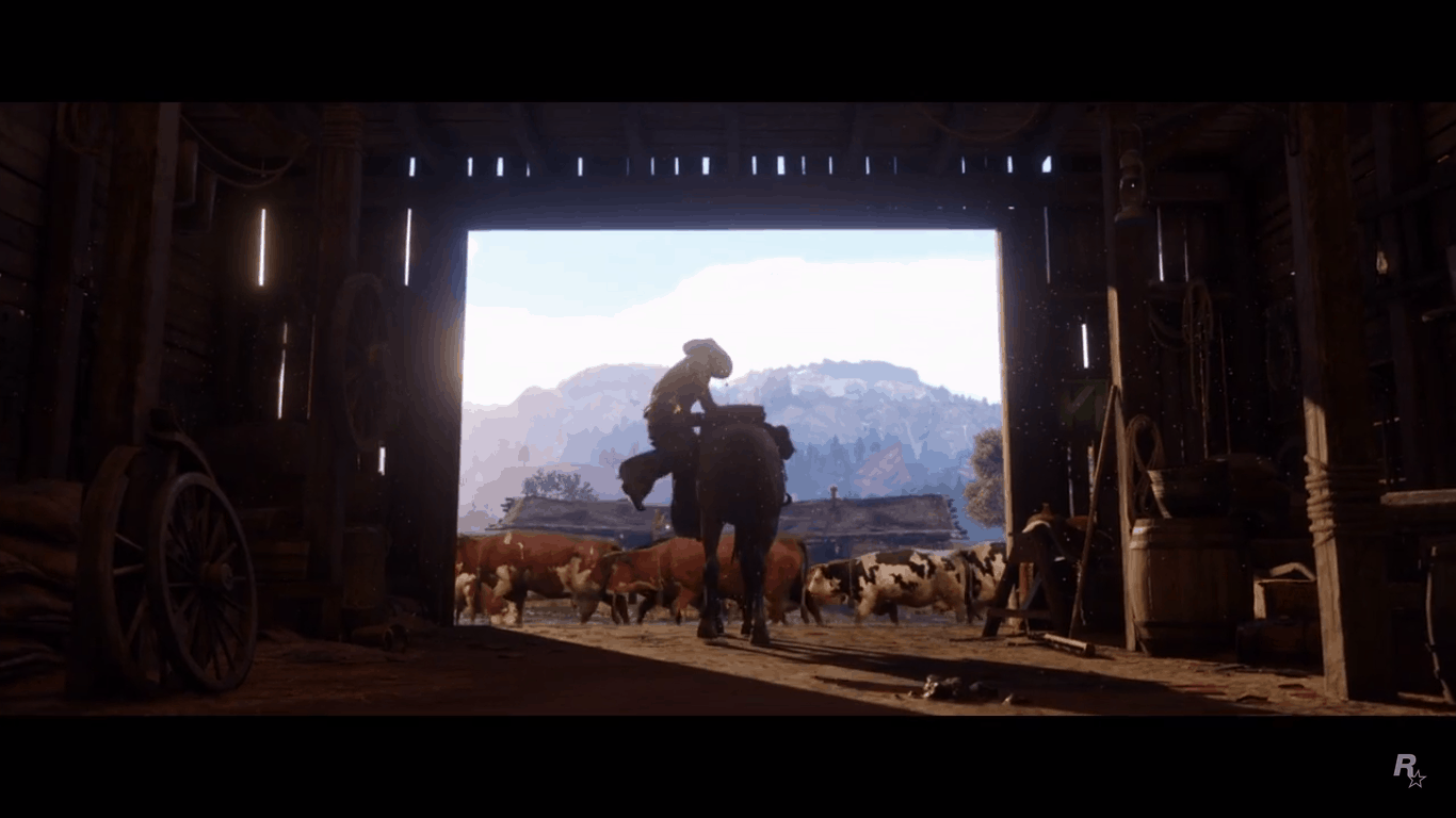 Ecco il primissimo trailer di Red Dead Redemption 2!