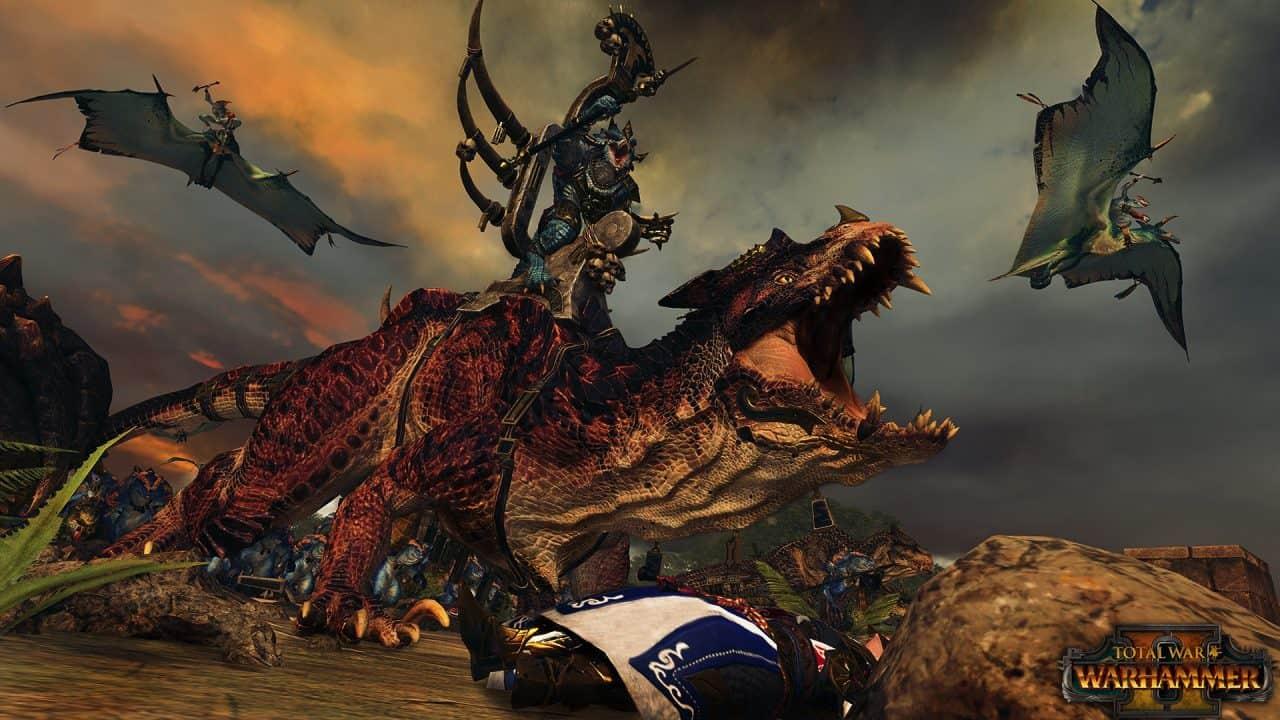 Total War: Warhammer 2 – Nuovo trailer dedicato agli Uomini Lucertola