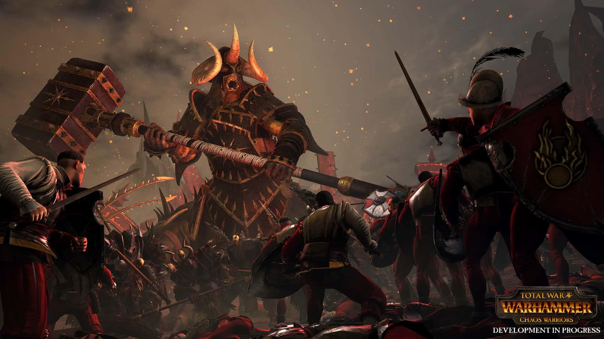 Total War Warhammer Guerrieri del Caos cover