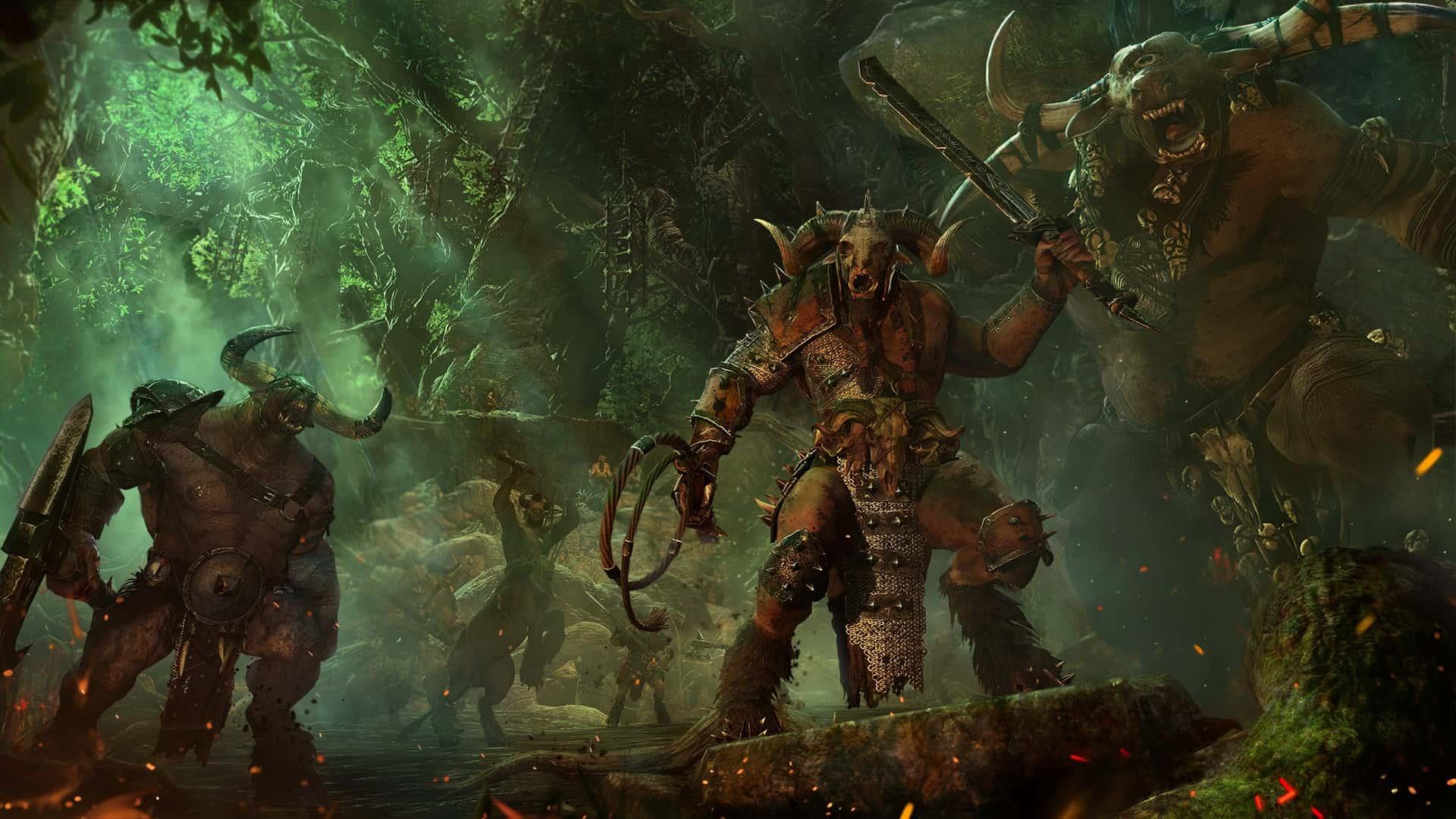 Total War Warhammer Uominibestia immagine in evidenza
