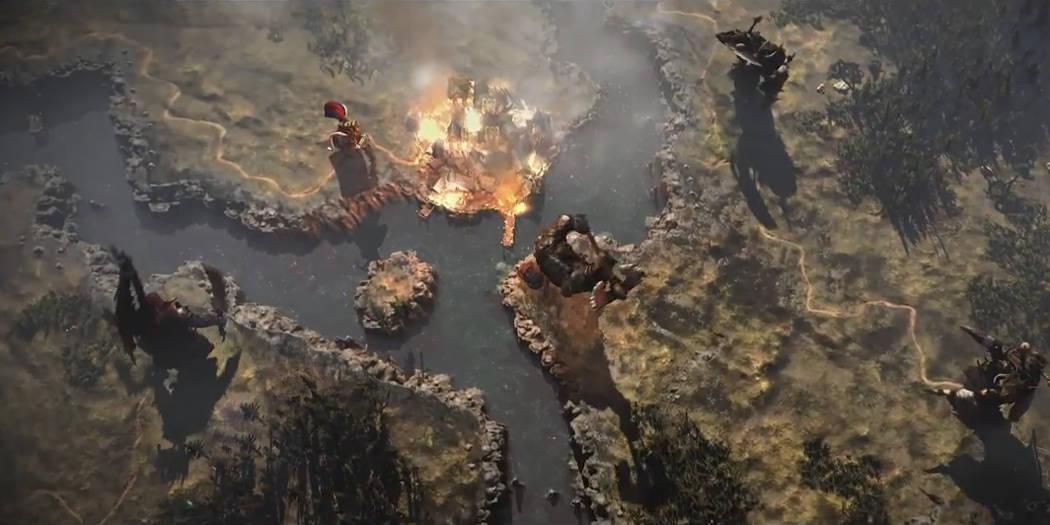 Total War Warhammer trailer mappa