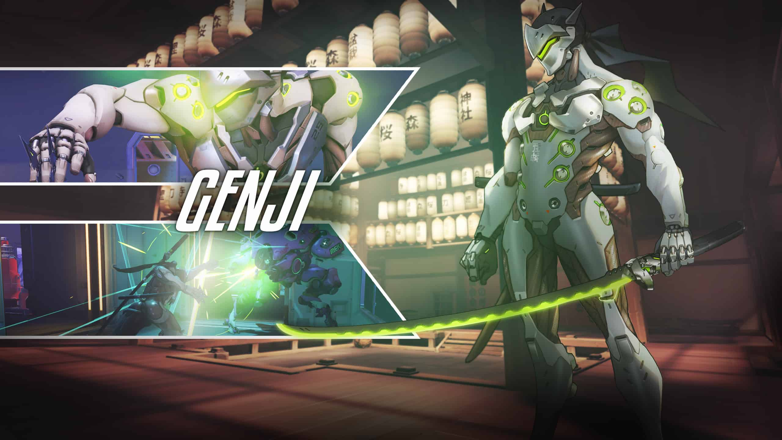 Overwatch Genji ultra buff