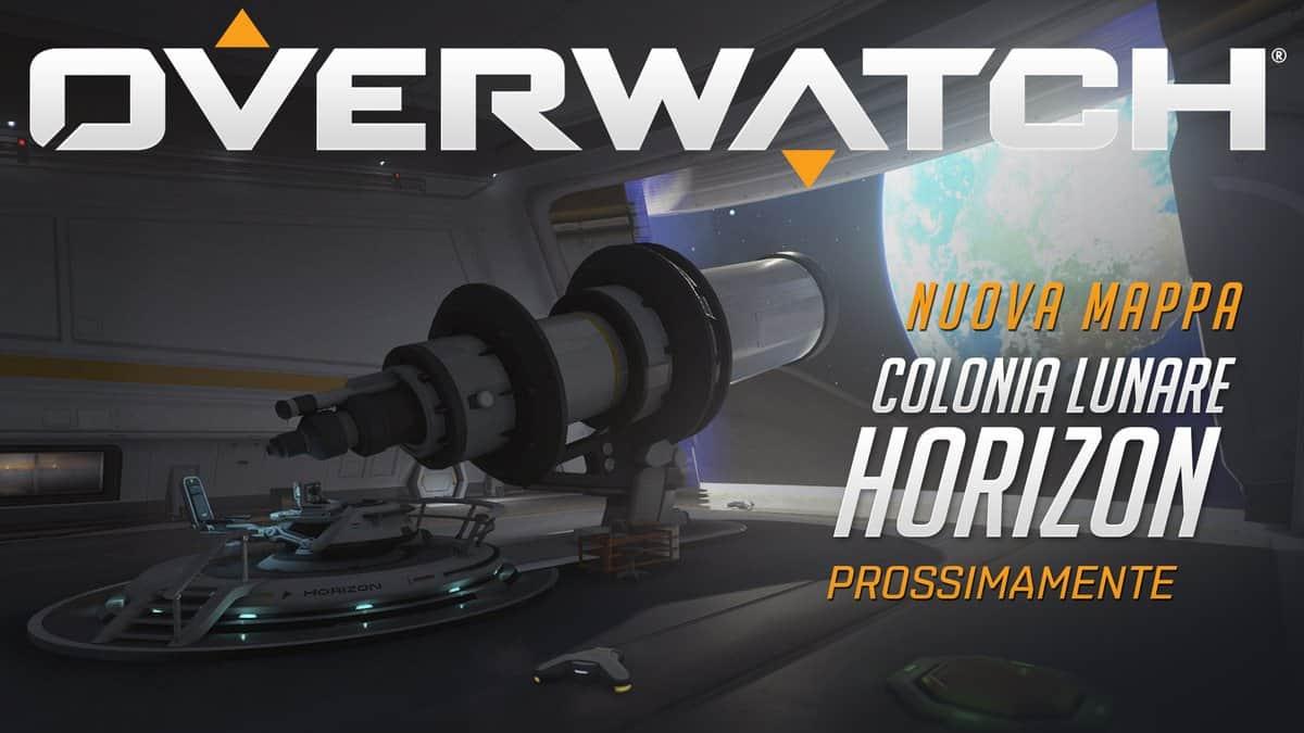 Overwatch: annunciatia la nuova mappa Colonia Lunare