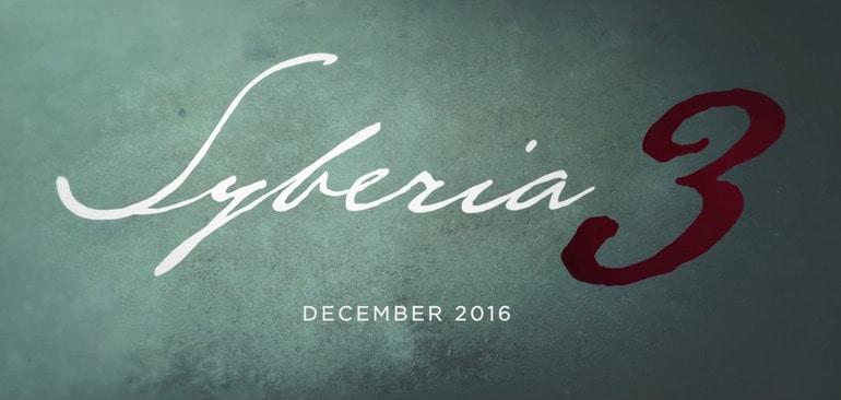 Syberia 3: nuove immagini, trailer e data di lancio