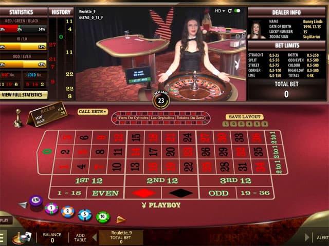 Roulette online con croupier dal vivo